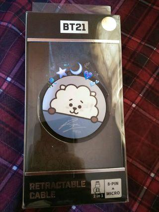 BT21 RJ RETRACTABLE CABLE