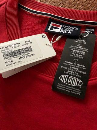 "FILA ""F"" Box Sweater"