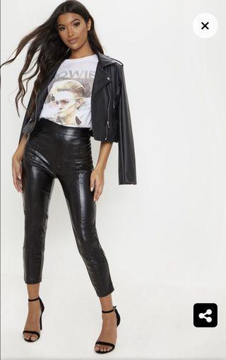 Pretty Little Thing Faux Leather Pants