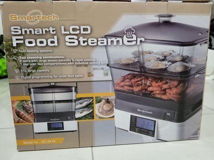 智能LCD多功能雙發熱電蒸爐