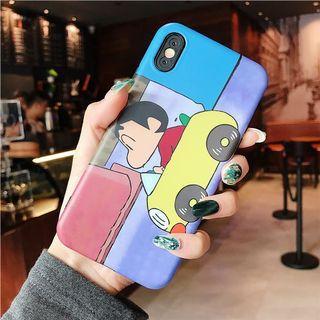 Iphone XS Max Crayon Shin chan phone cover
