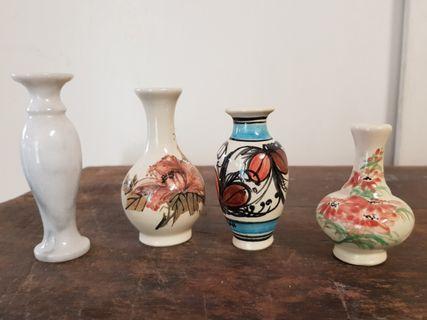 mini oriental vases