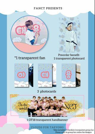 (PO) For NCT July and August birthdays - Diamond fankit by @/fanct on twitter!