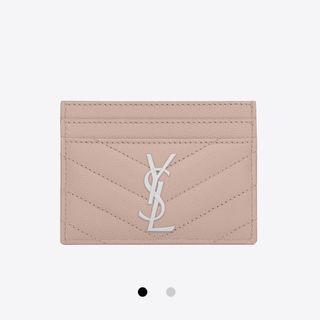 YSL Card Holder Blush