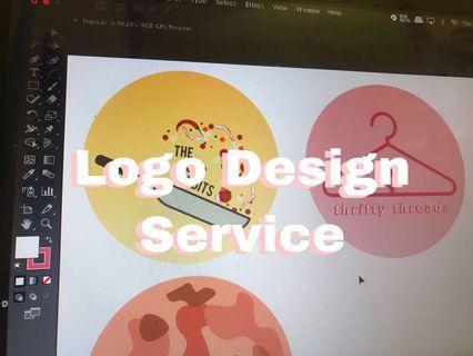 Simple Illustrator Logo Design Service