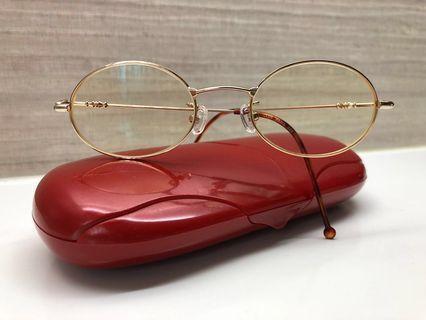 Pre❤️ Authentic Club Paris Gold Oval Frame Eyewear