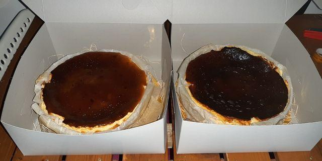 Burnt cheesecake