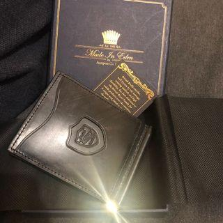 $500 brand new made in Eden 男士銀包money clip wallet
