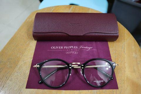 Oliver peoples 505 black gold special edition made in japan 黑金