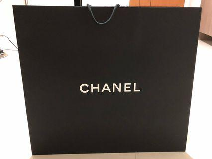 Brand new Chanel XL Large Paper bag