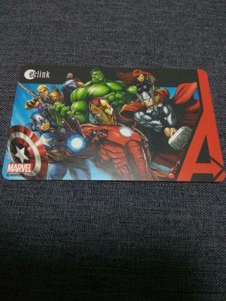 Marvel Avenger Endgame Collectible Ezlink Card