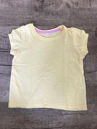 🚚 Mothercare Yellow Top