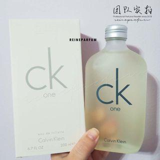 CK One Perfume 200ml
