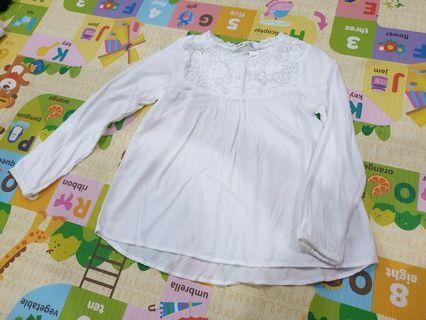 🚚 Brand new girl's H&M blouse