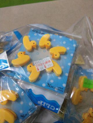 🚚 黃色小鴨造型夾(6個裝)