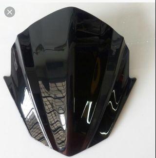Sniper/exciter/y15zr visor head cowl windshield batman cover.