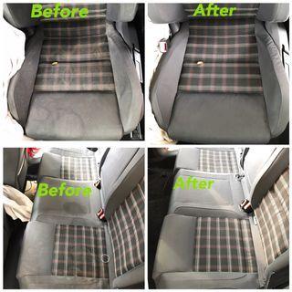 Interior fabric cleaning mk5