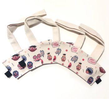Cup Sleeve holder/bubble tea/starbucks- Sesame Street
