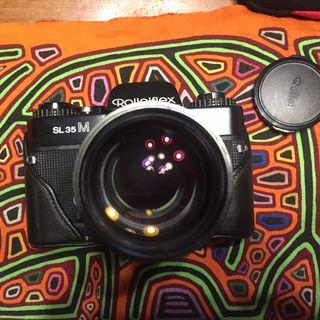 Rolleiflex SL35M vintage film camera (analog) lensa Rollei 13mm