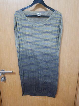 M missoni tunic / short dress