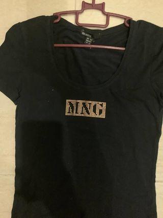 baju t-shirt perempuan jenama mng mango