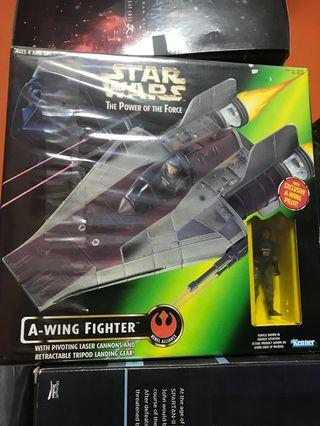 Star Wars Power Of The Force A-Wing Starfighter #endgameyourexcess