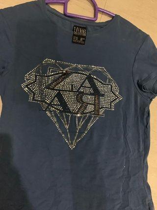 baju t shirt perempuan jenama zara