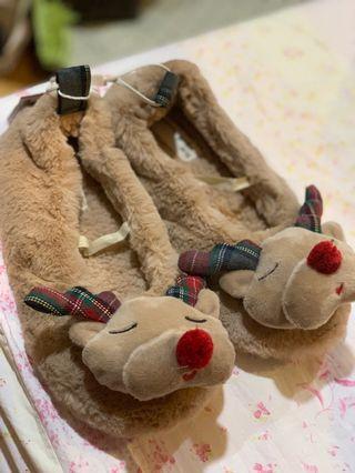 (含運)小孩系列zara聖誕系列麋鹿室內鞋