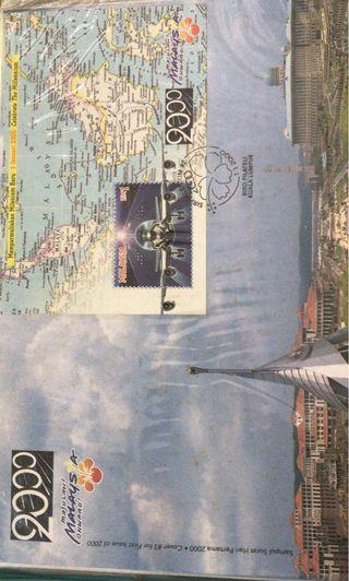 Year 2000 Malaysia first day cover