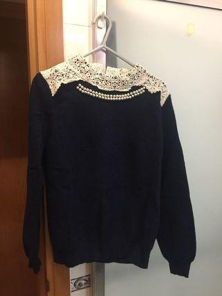 Lace 領上衣