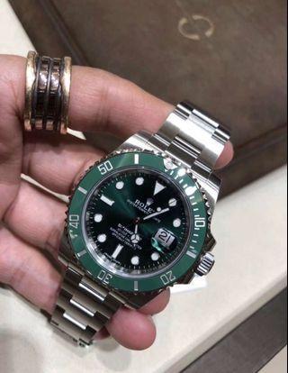 Rolex 綠鬼現貨