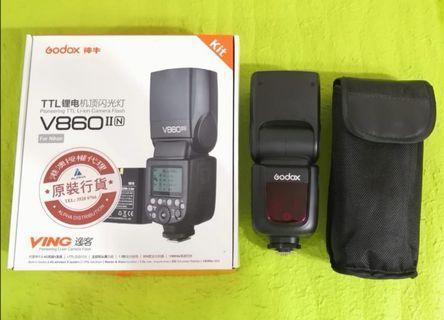 Godox 神牛V860 II (For Nikon)