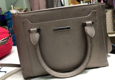 Vincci Pewter Colour Handbag