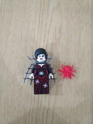 Lego Spider Lady Minifigure