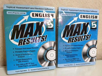 MAX Results! Primary 5 English