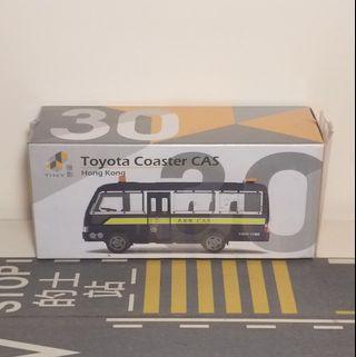 全新Tiny常品舊版30民安隊Coaster模型車仔 AM4615 CAS 非Tomica