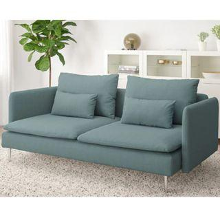Stylish 3-4 Seater Sofa by IKEA - (excellent condition)