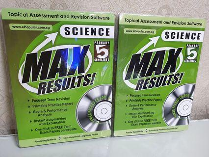 MAX Results! Primary 5 Science