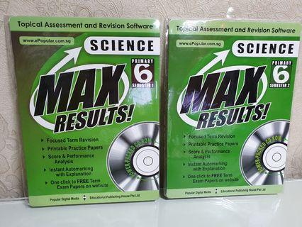 MAX Results! Primary 6 Science
