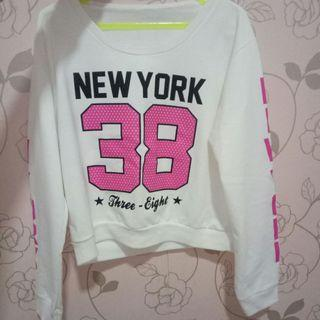 Sweater CropTee New York