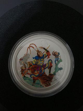 澳洲猴年銀幣-孫悟空