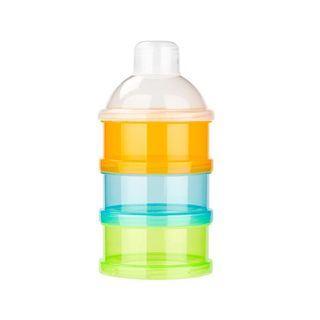 🚚 3 layer portable formula milk powder container milk powder storage box (Ready Stock)