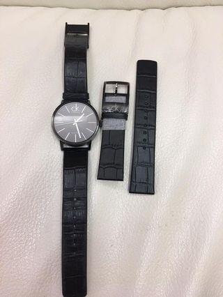 Calvin Klein黑色錶