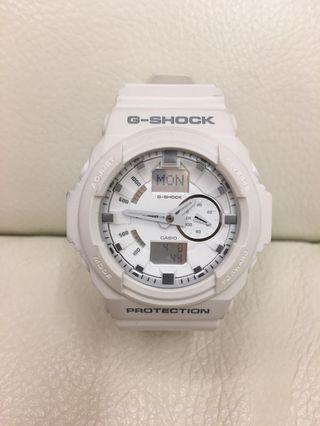 白色G-shock錶