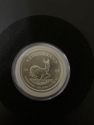 南非富格林銀幣 2019