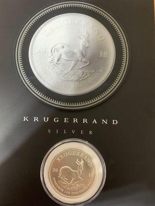 南非富格林銀幣2018