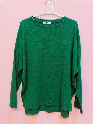 🚚 長袖上衣-綠