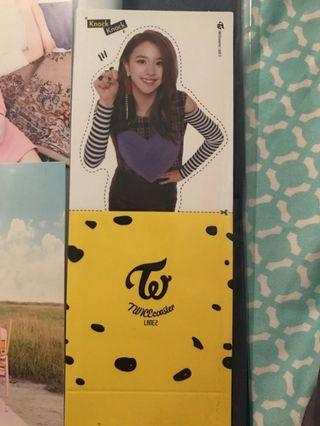 WTS TWICE LANE 2 CHAEYOUNG BOOKMARK