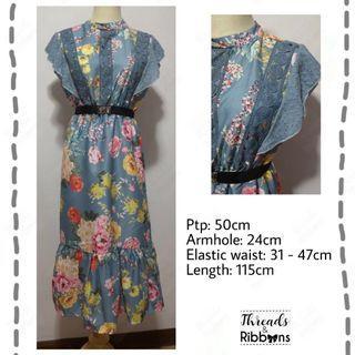 *Instock* Brand New Floral Long Dress