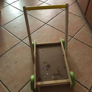 🚚 Toddler's wooden trolley
